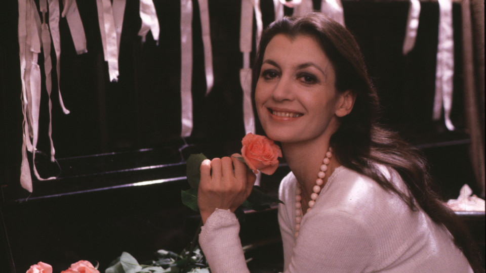 Carla Fracci nel 1980