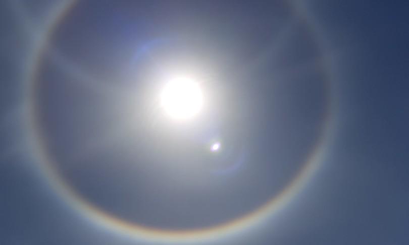 alone sole arcobaleno orbetello