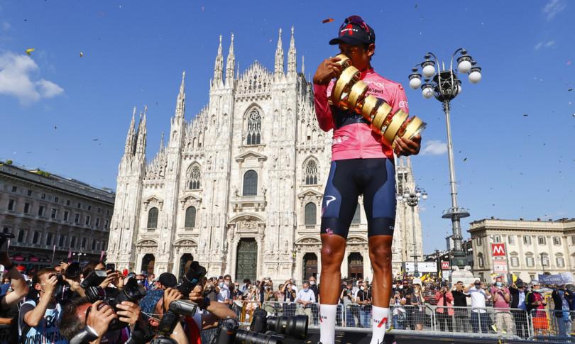 giro italia trionfa bernal cronometro vince ganna
