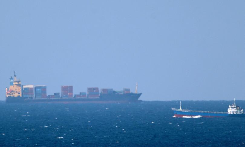 nave cargo affonda incendio golfo oman