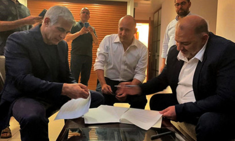 israelenuovo governo lapid bennett finita era Netanyahu