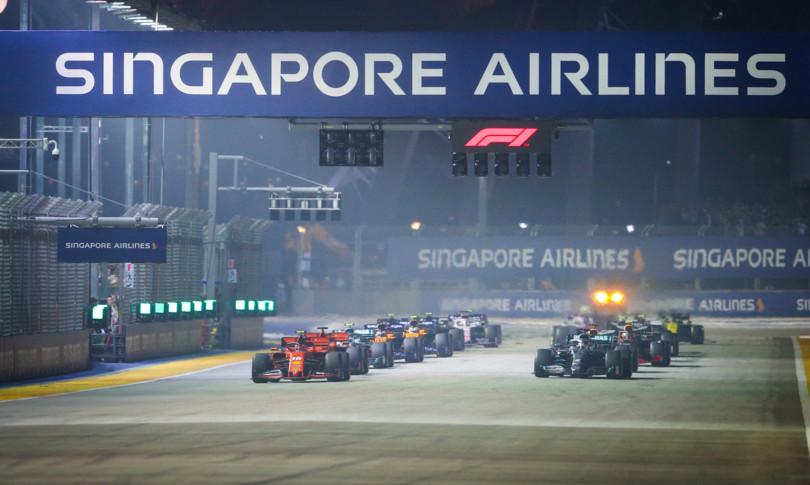 annullato gran premio formula 1 singapore