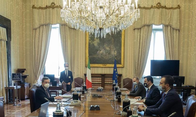salvini colloqui draghi ripresa riforme