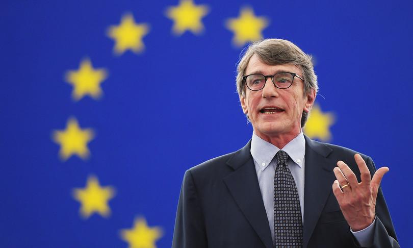 sassoli europarlamento banchi vuoti