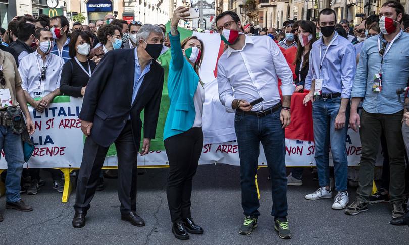 roma centrodestra candida michetti sindaco matone vice