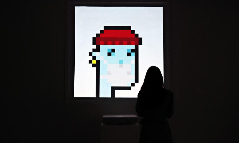 Un'immagine 'pixelata' è stata venduta da Sotheby's per 11,7 milioni di dollari