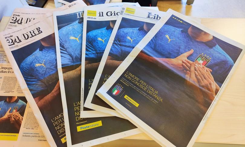 europei poste veste azzurro quotidiani italiani