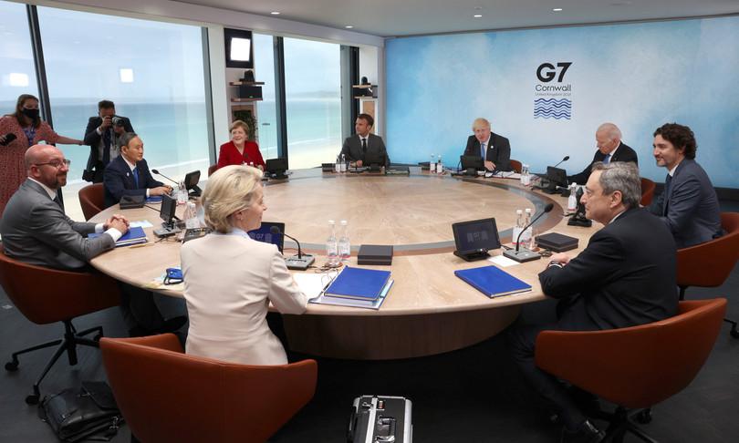 piano infrastrutturale globale G7 cina