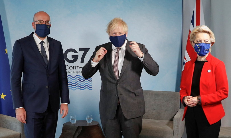 Lite Ue Londra a G7 su Nord Irlanda