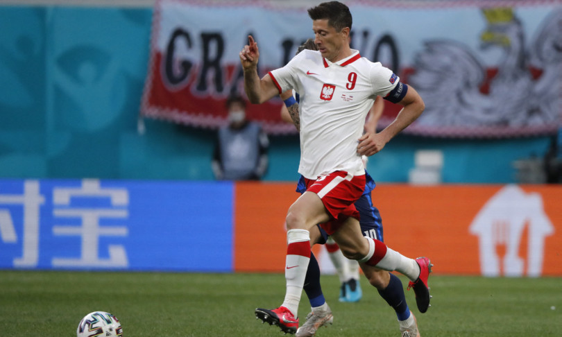 europei Polonia Slovacchia gol Skrinier male Lewandowski
