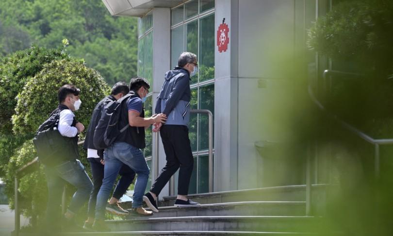 raid polizia giornale apple daily hong kong