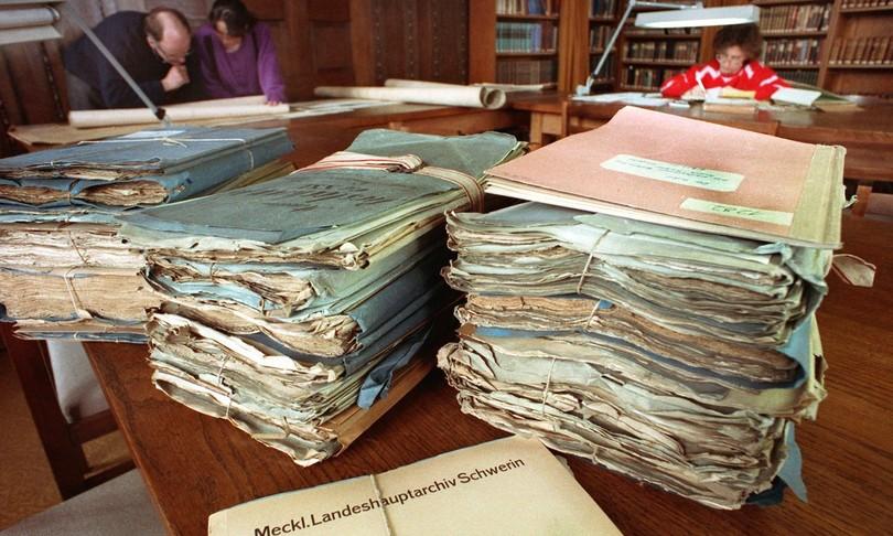 archivi stasi ddr berlino germania chiusi