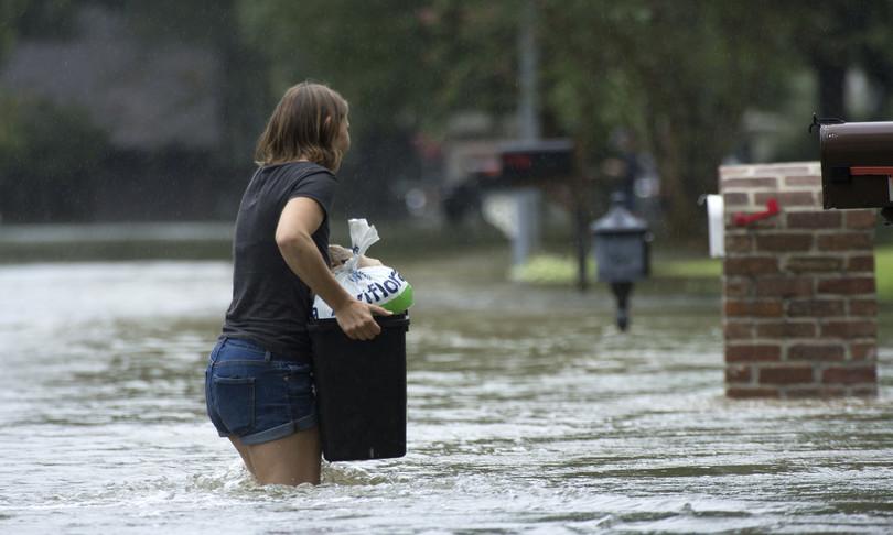 studio rischio inondazioni aumentare di 50 volte