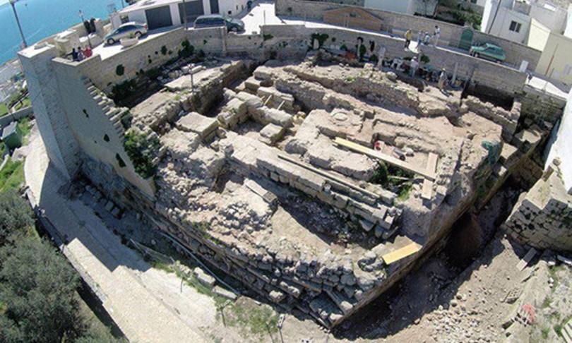 Archeologia Castro tappa viaggio Enea mediterraneo