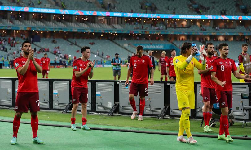 Europei Svizzera-Turchia 3-1 elvetici terzi ma sperano