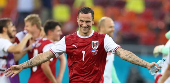 L'Austria batte l'Ucraina 1-0, agli ottavi affronterà l'Italia