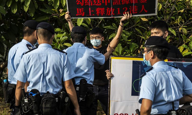 arrestato editorialista apple daily hong kong