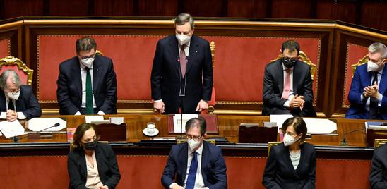 """Draghi risponde sul ddl Zan: """"Lo Stato è laico, il Parlamento libero"""""""