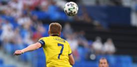La Svezia doma la Polonia 3-2 e chiude prima nel gruppo E