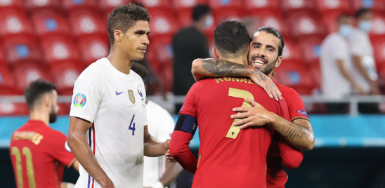 Il 2-2 tra Portogallo e Francia vale un biglietto per due