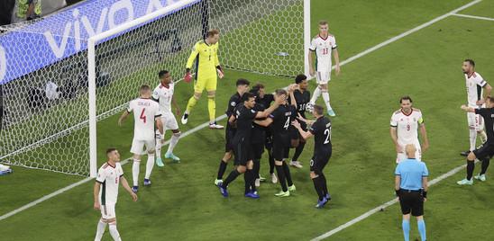 La Germania si salva in extremis. Ungheria eliminata a testa alta