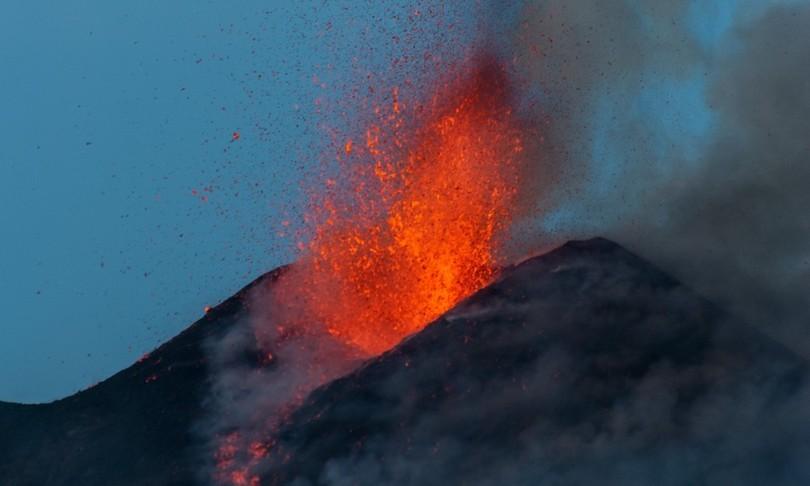 Etna mappa colate Catania da preistoria