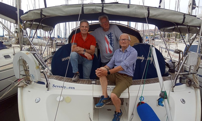 Studiobenefici barca vela Mediterraneo 81 anni