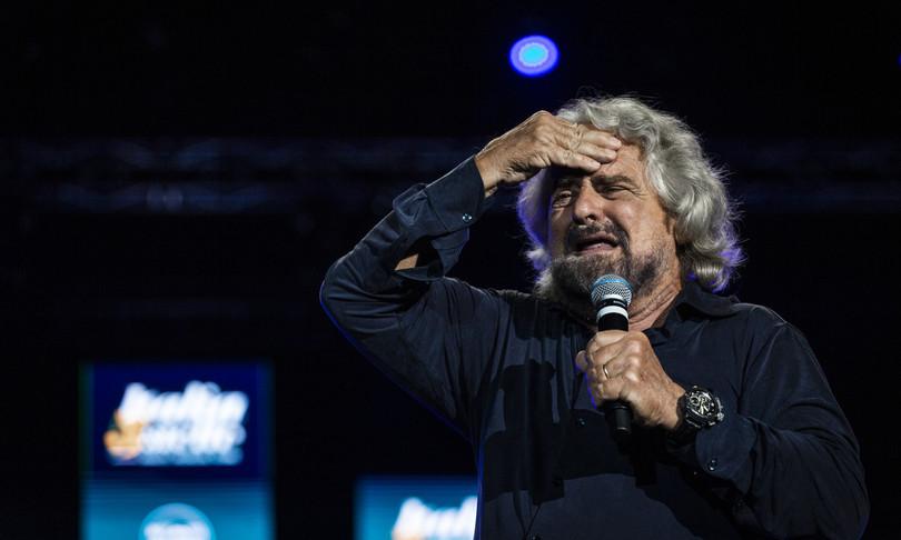 Beppe Grillo Giuseppe Conte M5s