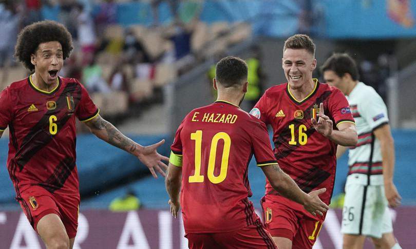 europei belgio batte portogallo quarti con italia