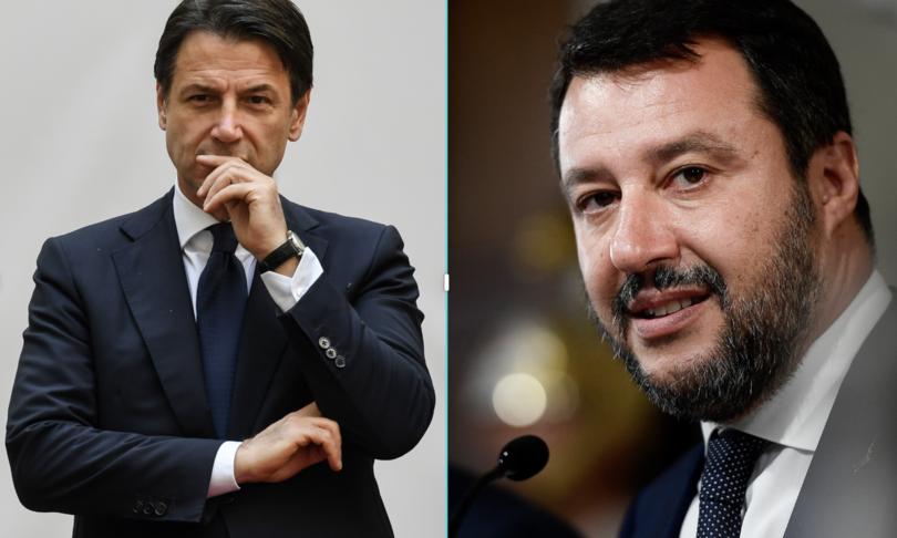 Giuseppe Conte M5s Matteo Salvini Governo Draghi