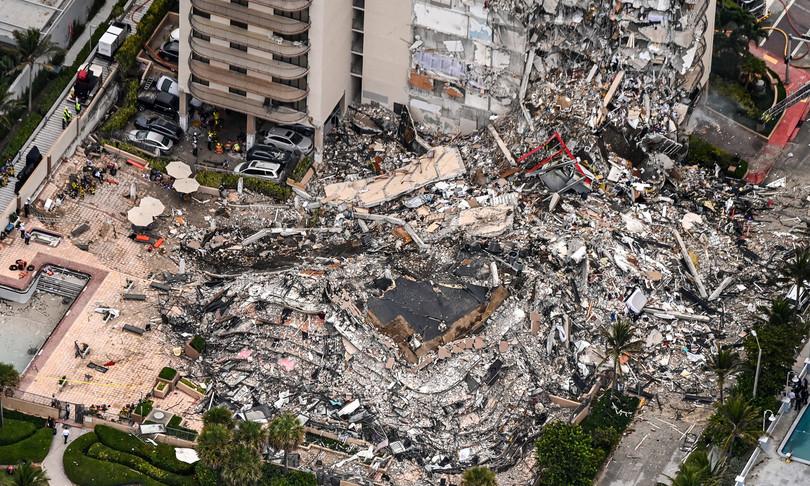 Crollo Miami vittime