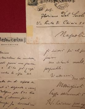 Ritrovate 35 lettere inedite di Missiroli a Del Secolo
