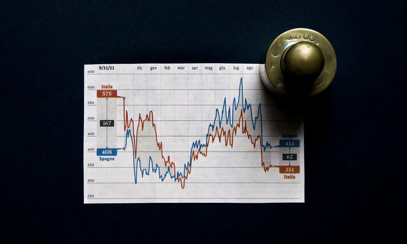 Giù spread tassi effetto Draghi