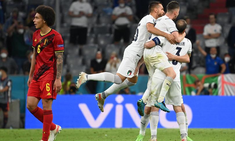 Impresa azzurra Belgio battuto