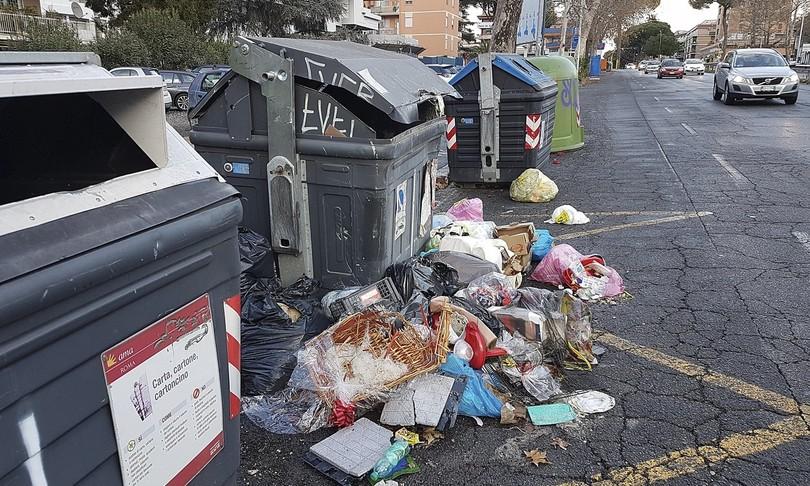 rifiuti roma cittadini raccolta fai da te