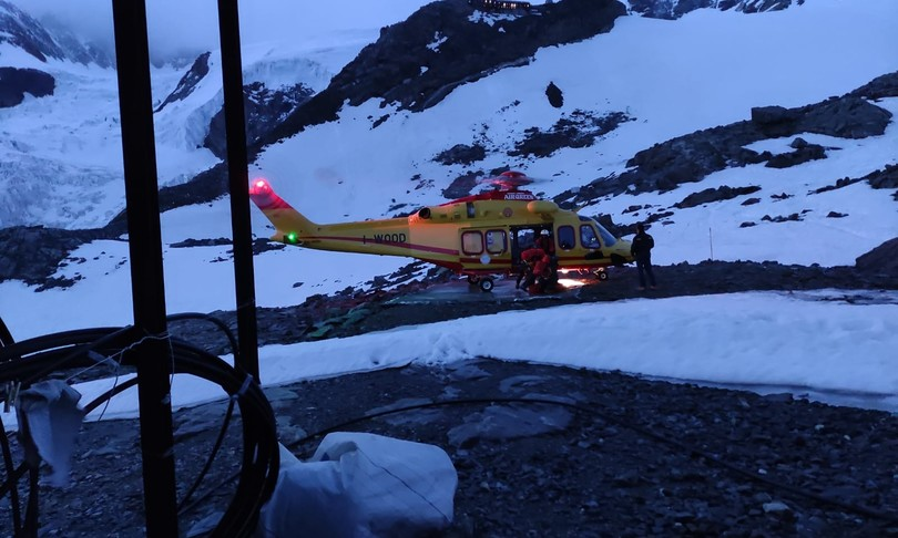 due alpiniste piemonesti morte assiderate sul Monte Rosa