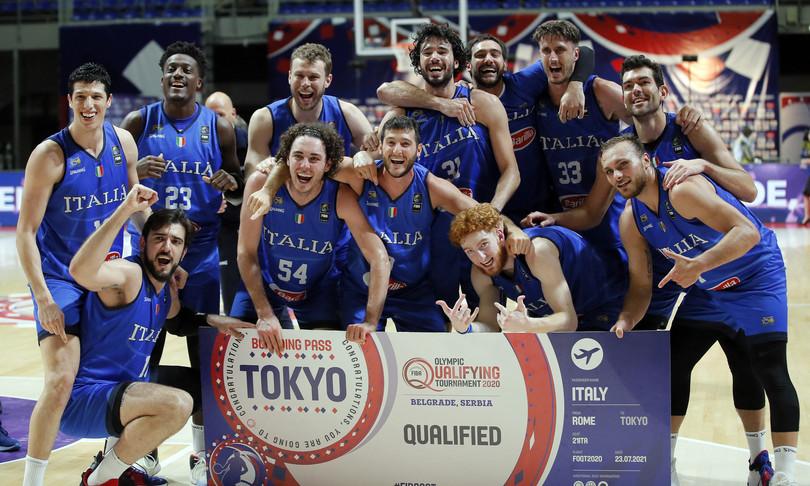 italia basket impresa serbia tokyo 2020