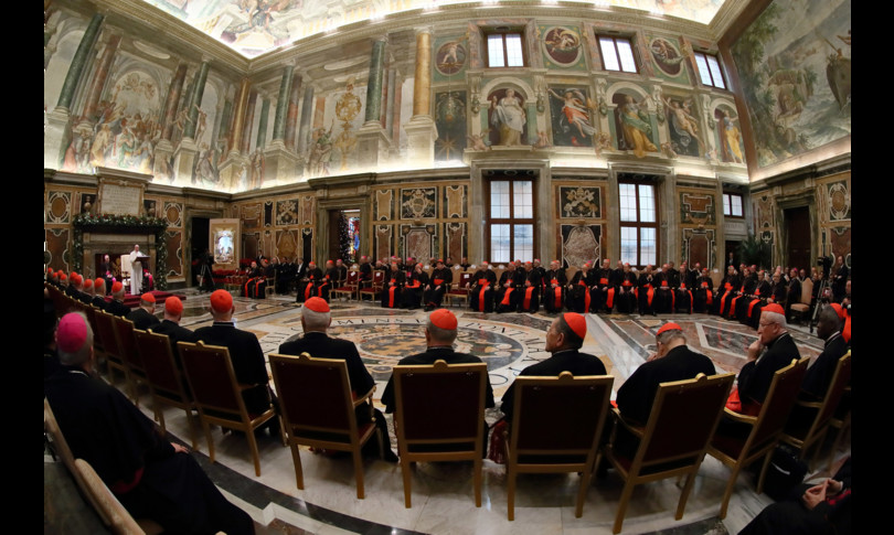 papa vaticano camerlengo ospedale
