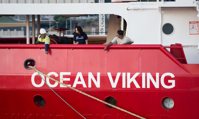 Nave Ong Ocena Viking porto