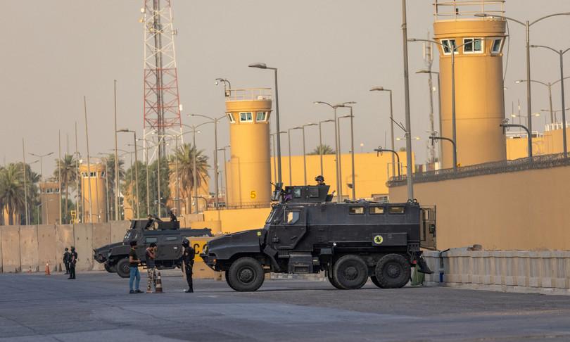 Usa abbattono drone contro ambasciata Iraq