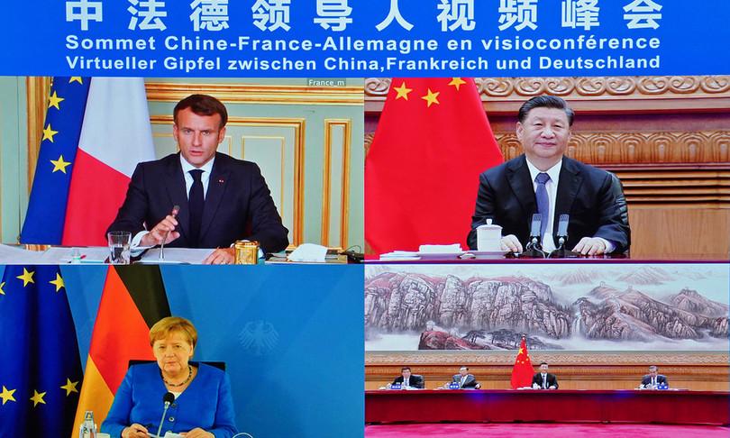 Francia e Germania favorevoli ad accordo con Cina su investimenti