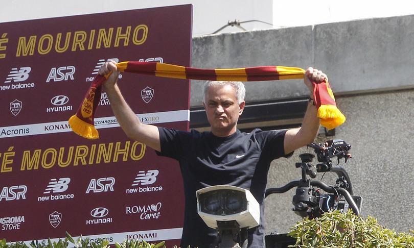 esordio mourinho roma