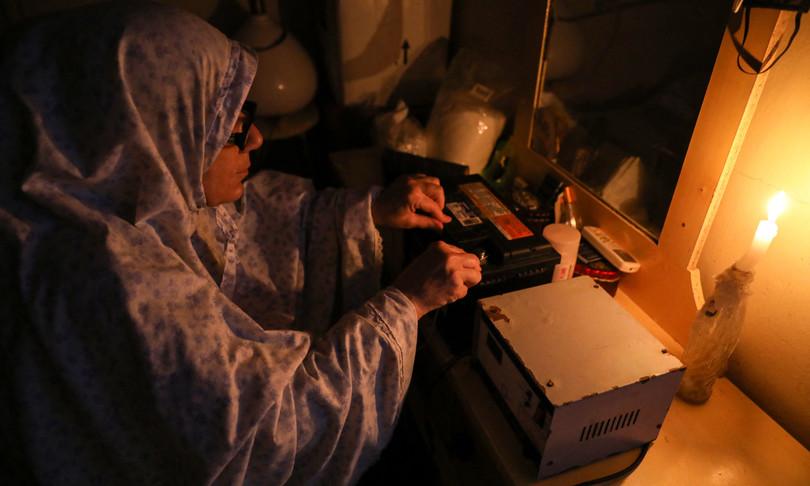 blackout totale libano
