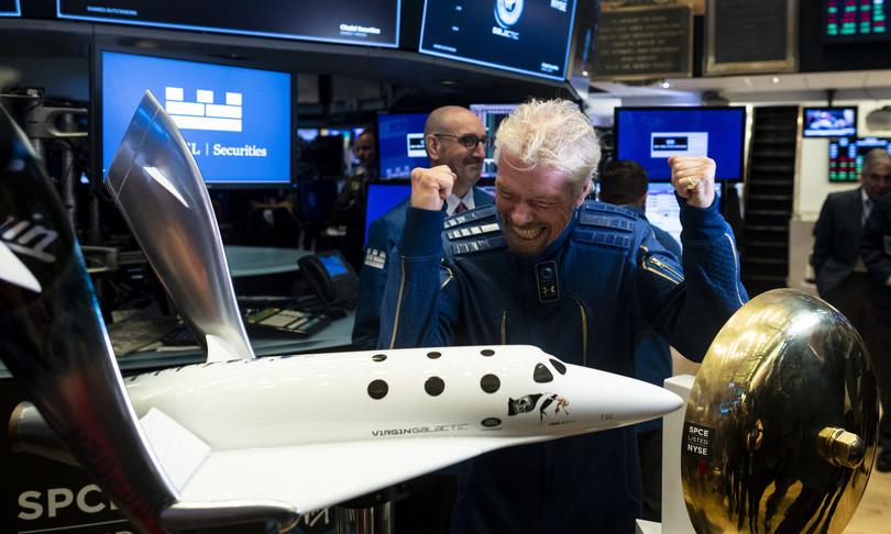richard branson primo turista spaziale della storia