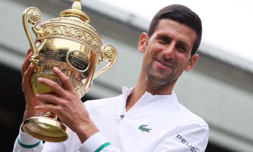 Novak Djokovic sogno grande slam