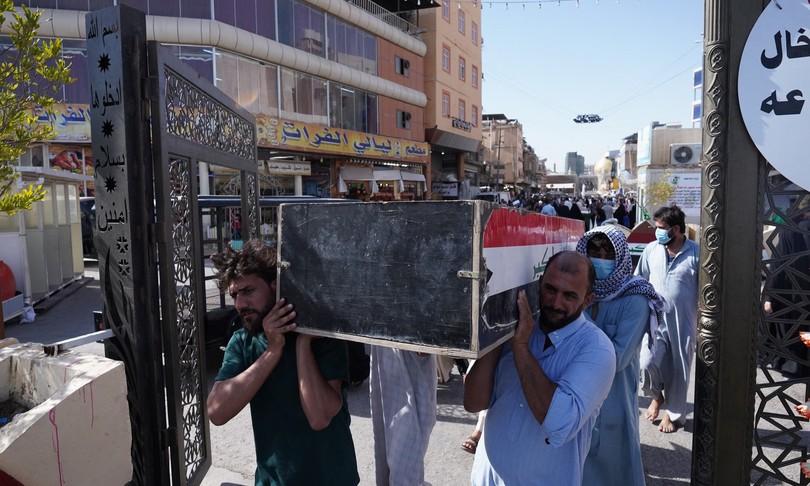 rogo ospedale covid iraq morti