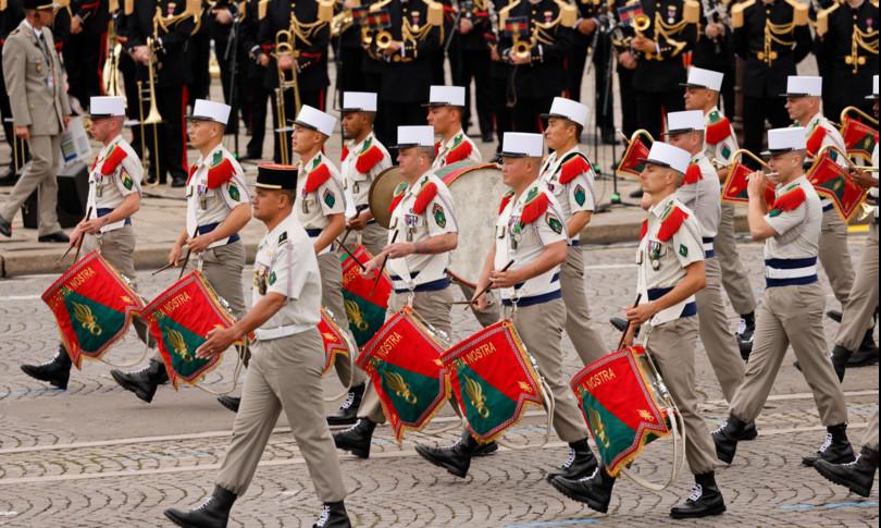 francia festa nazionale parata militare champs elysees