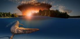 È stata trovata la traccia dello tsunami che uccise i dinosauri