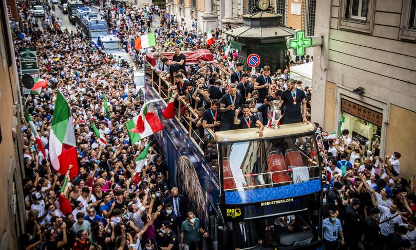 vittoria italia europei crescita pil