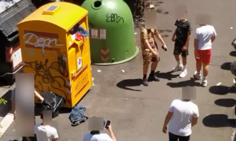 baby gang terrorizzava quartiere marconi roma